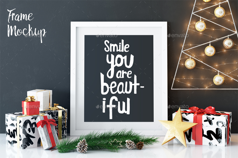 Display-Christmas-Frame-Mockup