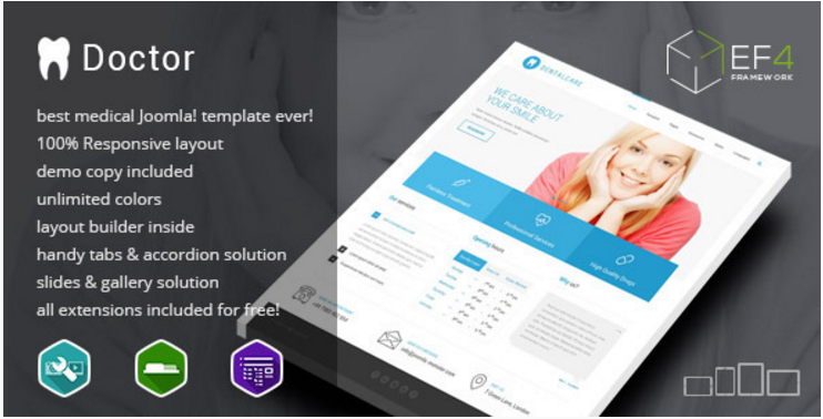 Doctor - multipurpose Services Template