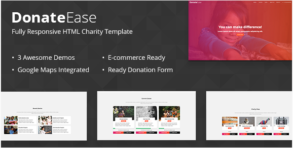 Donate Ease - Charity