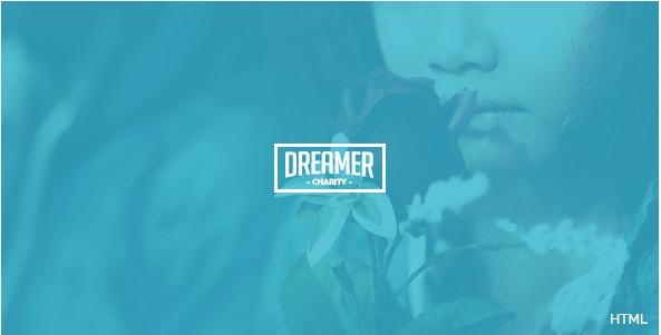 Dreamer - Multipurpose Charity HTML Template