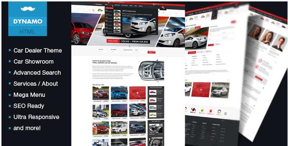 Dynamo - Rent-Sell-Buy Car Dealer HTML Responsive