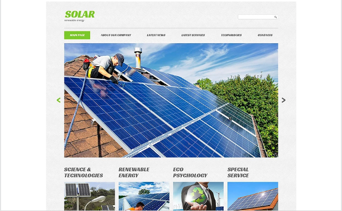 Eco Company Website Template