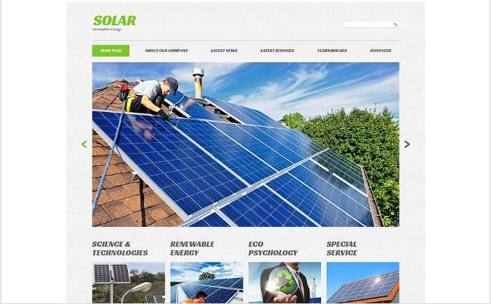 Eco Company Website Template