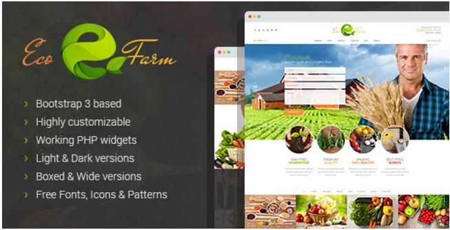 Eco Farm - Organic Food & Eco Farm HTML Template