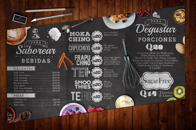 Best Creative Restaurant Menu Designs