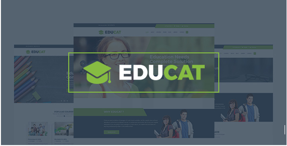 Educat – Education Bootstrap Template