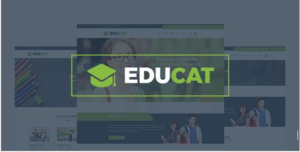 Educat – Education Bootstrap Template