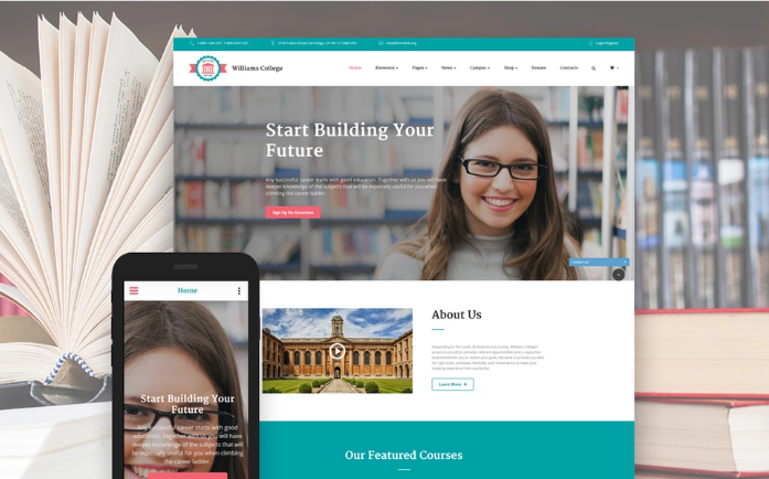 Best Education HTML Website Templates