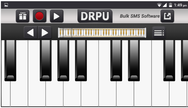 Electric Piano Digital Music Topmost Free Music Android App