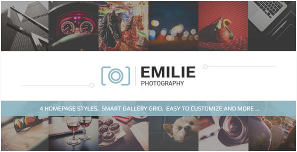 Emilie - Photography Portfolio HTML Template