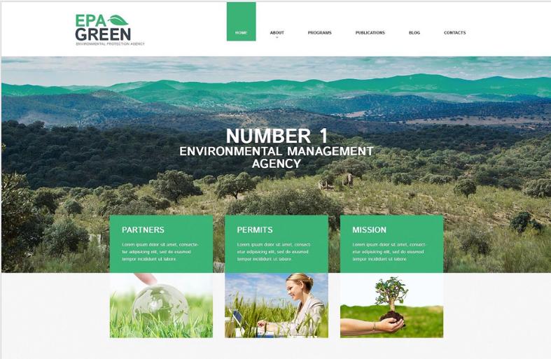 Epa Green PSD Template