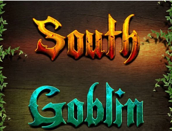 Epic Game Style Text Effects