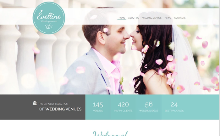 Evelline Website Template