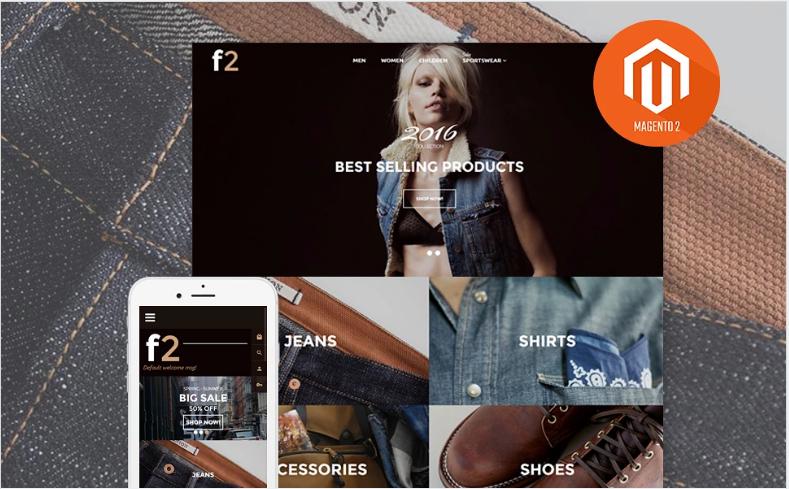 F2 - Fashion Boutique Magento 2 Theme