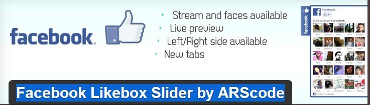 Facebook-Likebox-Slider