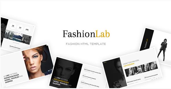 Fashion Lab - Creative and Clean Fashion HTML Template