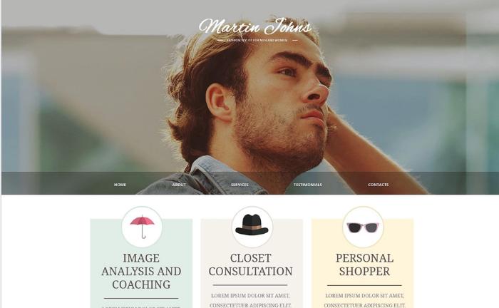 Fashion Responsive Website Template