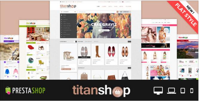 Fashion Store Mega Mall Shopping Center Premium Responsive PrestaShop Themes TitanShop