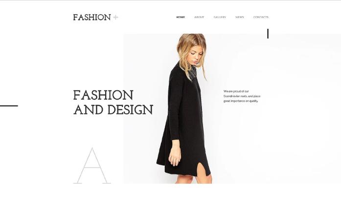 Best Fashion HTML Website Templates