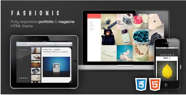 Fashionic - Ajax Portfolio Magazine HTML Theme