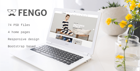 Fengo - Responsive eCommerce PSD Template