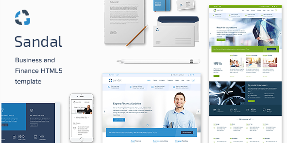 ce & Consultancy Business HTML Template - Sandal