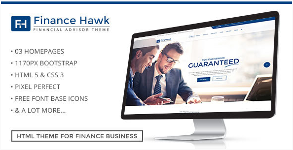 Finance Hawk Finance and Accounts – Finance, Consulting, Accounting and Business Template
