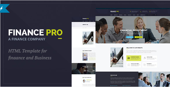 Finance Pro Finance and Business HTML Template