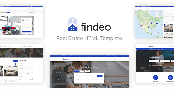 Findeo - Real Estate & Directory HTML Template