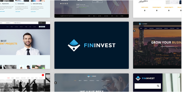 Finvest - Business, Consultancy, Finance & investment template