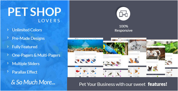 FishTank - Creative Shop HTML Template