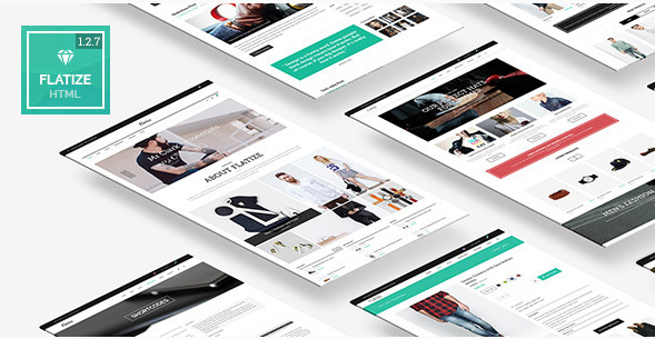 Flatize - Fashion eCommerce HTML Template