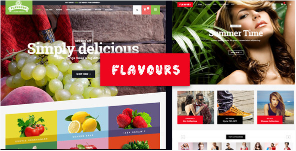 Flavours - Multipurpose Ecommerce HTML Template