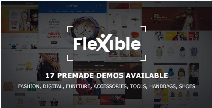 Flexible - Multi-Store Responsive Prestashop Theme