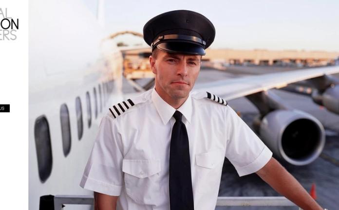 Flight School PSD Template