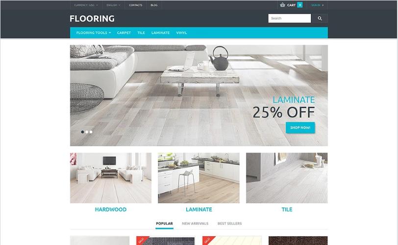 Flooring Store PrestaShop Theme