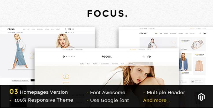 Focus - Multipurpose Responsive Magento Theme