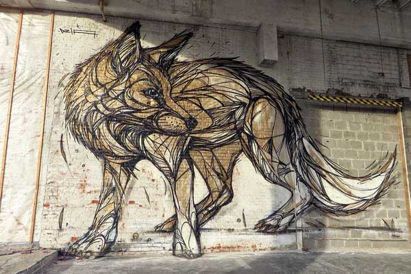Fox-Graffiti