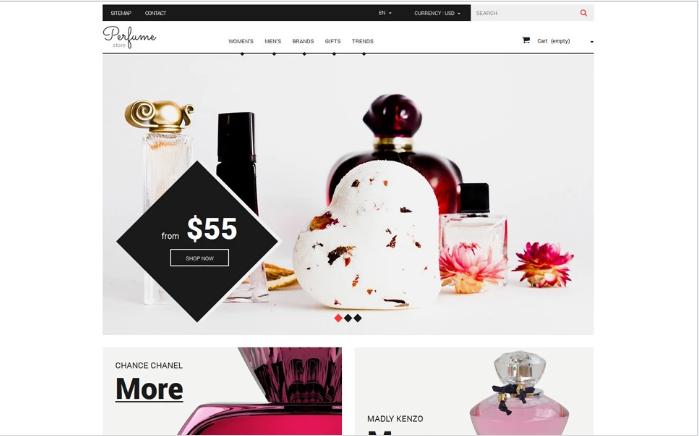 Fragrance Guru PrestaShop Theme