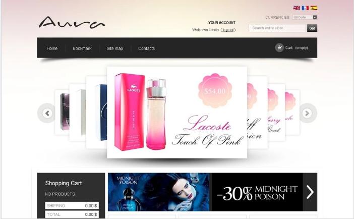 Fragrance Online PrestaShop Theme