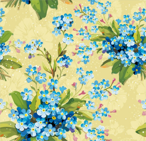 Free-Fall-Flower-Background