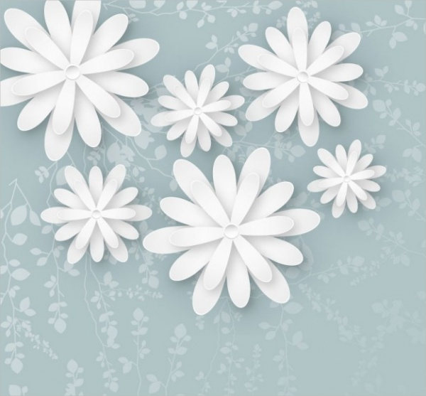 Free-White-Flower-Background
