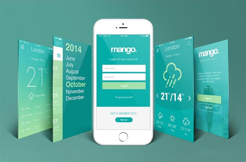 Free-iPhone-Perspective-App-Screen-Mockup