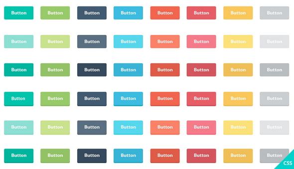 Freebie-Flat-Buttons