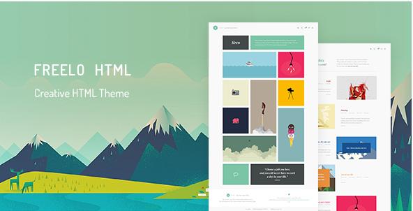 Freelo - Creative HTML Portfolio Theme