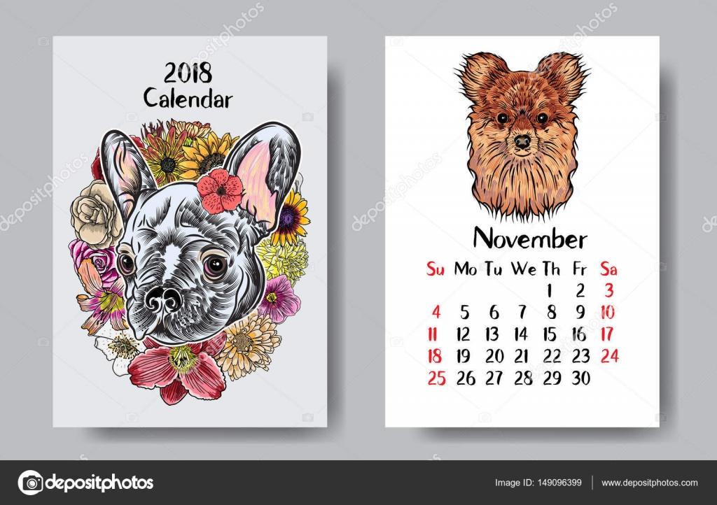 Funny Calendar Design 2018