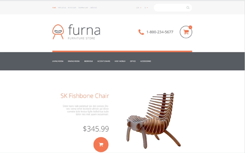 Furna OpenCart Template