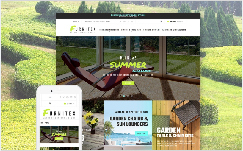 Furnitex - Furniture Responsive Magento Theme