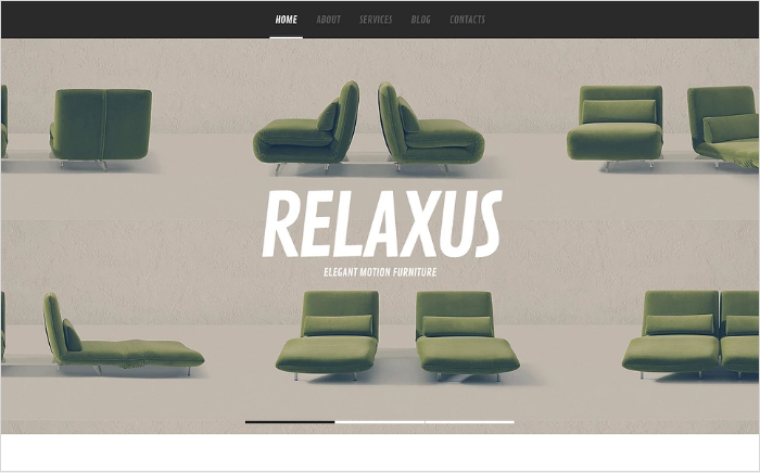 Best Furniture HTML Website Templates