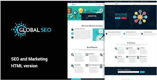 GLOBAL SEO - Marketing And SEO Responsive HTML Template